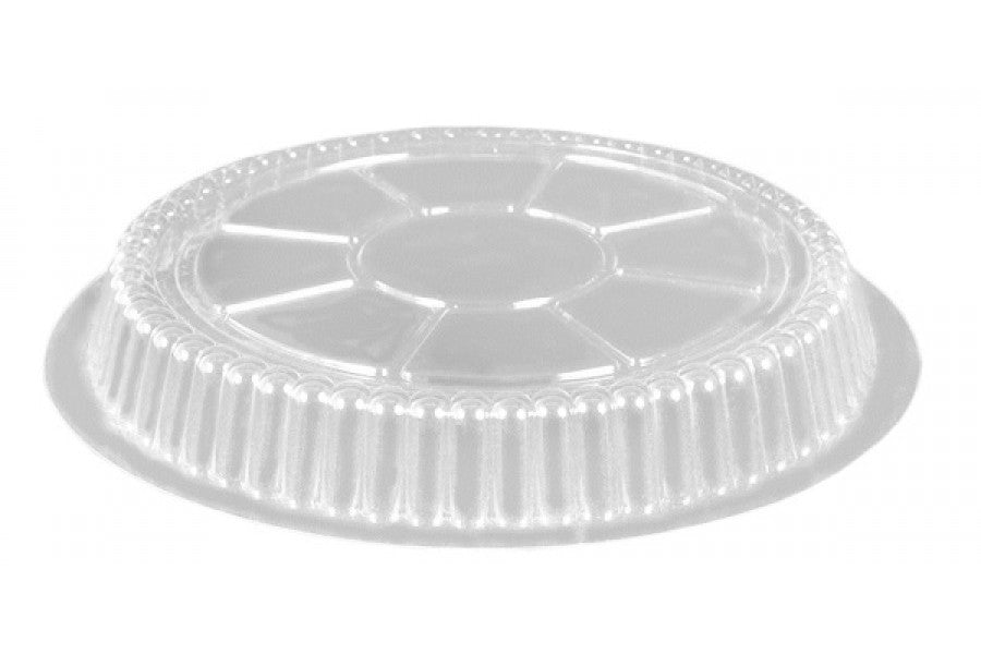"Clear Dome Lid for 7"" Round Slim Foil Pan"