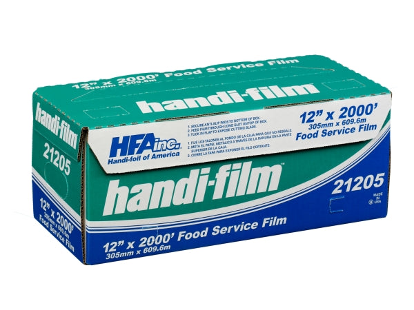 "HFA Hand-Film 12"" x 2000' Food Service Cling Film"