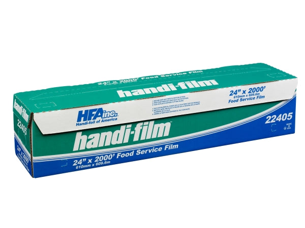 "HFA Handi-Film 24"" x 2000' Food Service Cling Wrap"