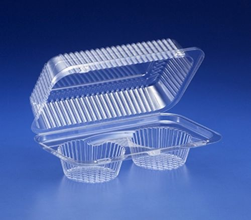 Inline 2-Cup Muffin / Cupcake Container