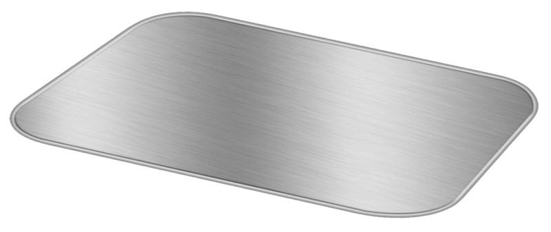 Board Lid For 4 lb. Oblong Foil Take-Out Pan 250/CS