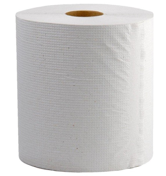 "10""x 600' White Paper Hand Towel For Automated Dispensers 6/CS"