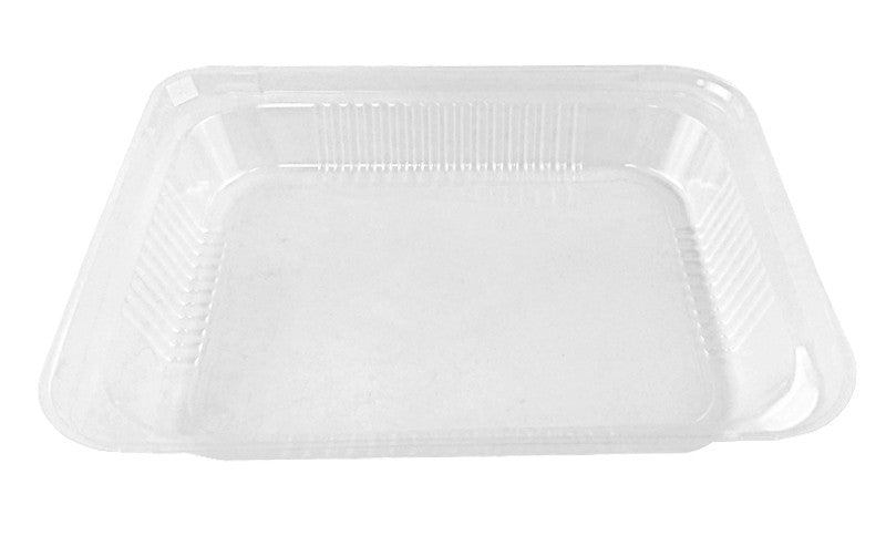 Durable Clear Medium Dome Lid For Half-Size Aluminum Foil Steam Pan100/CS
