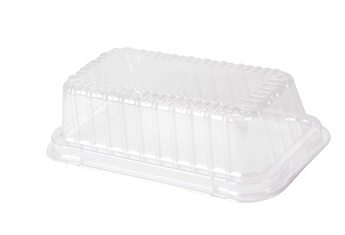 Durable Packaging Clear High Dome Lid For 2 lb. Foil Loaf Pan 500/CS
