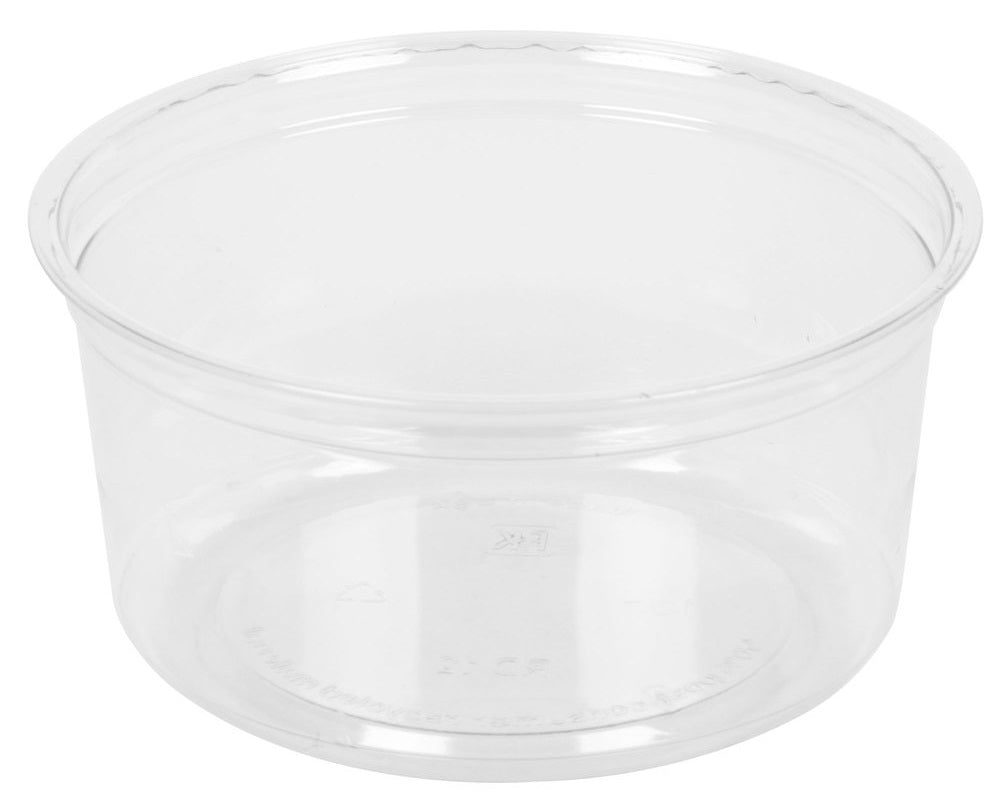 Placon 12 oz. Round Clear Deli Container (Base)