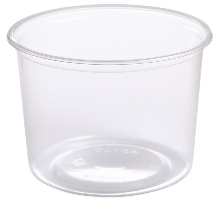 Placon 16 oz. Round Clear Deli Container (Base)