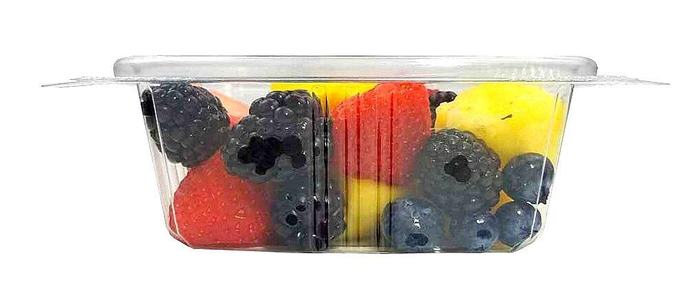 12 oz. Clear Hinged Deli Fruit Container 50/PK