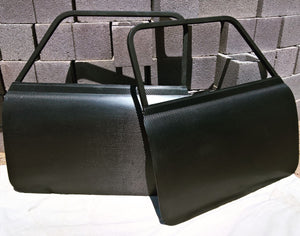 Carbon fiber and fiberglass doors, early and late model