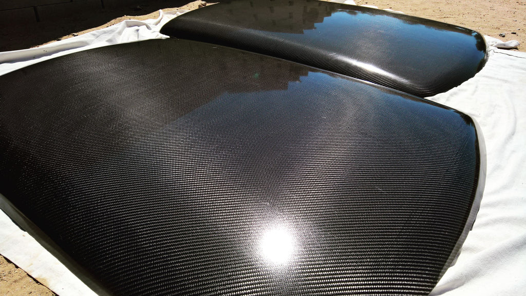 Carbon fiber replacement roof