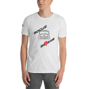 Rogue Se7ens Mini on light t shirt - Rogue Se7ens