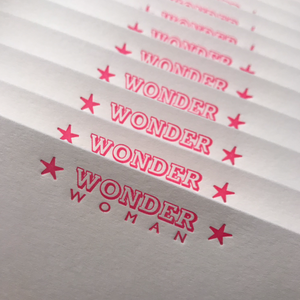 *NEW* WONDER Woman Notecards