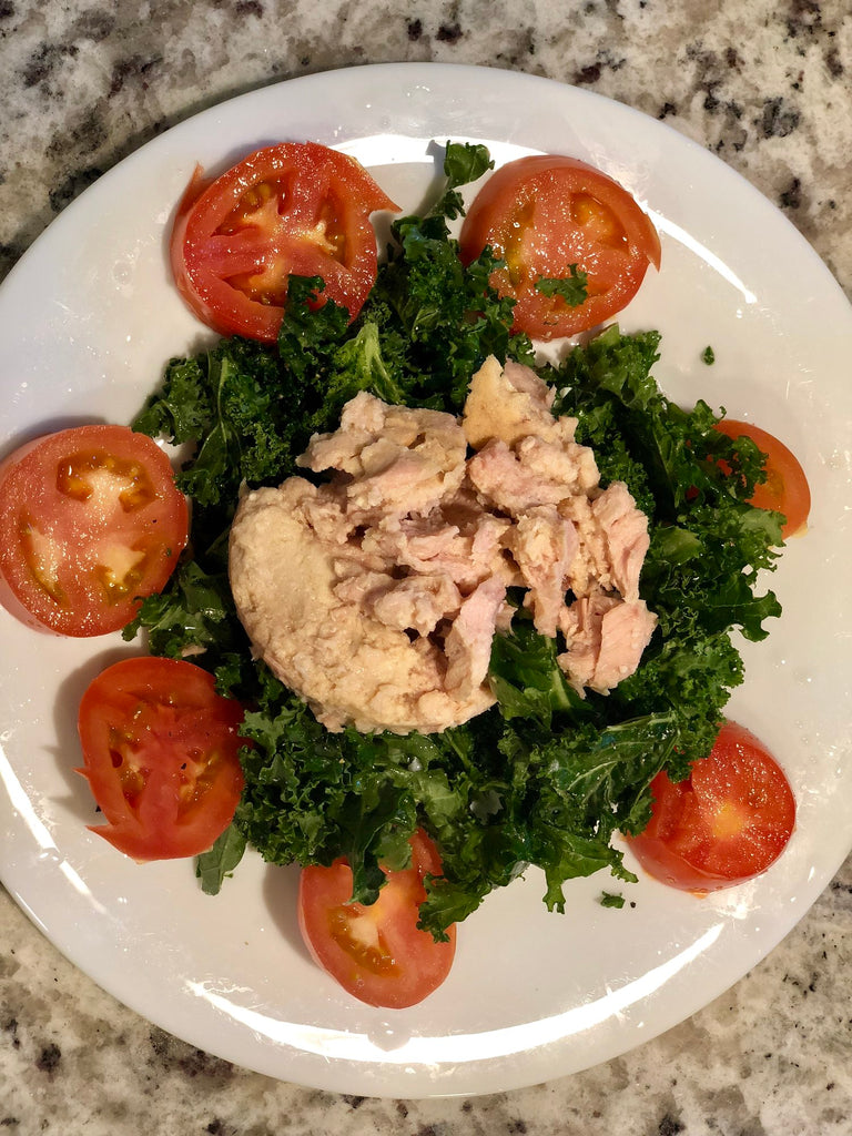 Tuna Kale Salad