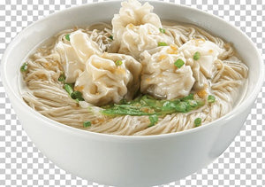 RICE NOODLE WITH WONTON