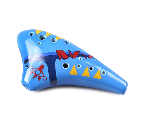 12 Hole Sheik Tenor Ocarina with Zelda Songbook