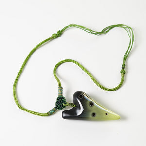 6 Hole E Major Ocarina Mini Necklace (4 colors)