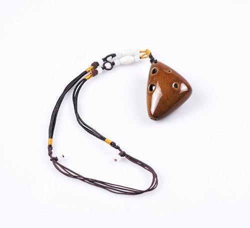 6 Hole C Major Ocarina Necklace