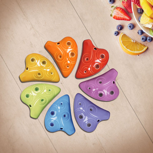 6 Hole E Major Mini Ocarina (7 colors)