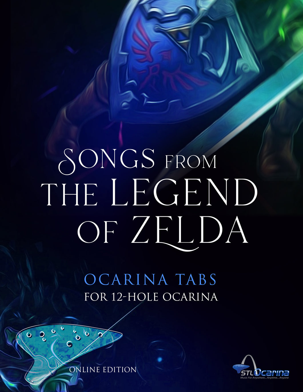 Zelda Songbook for 12 Hole Ocarinas Online Version