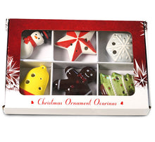 Load image into Gallery viewer, Christmas Ornaments Ocarina Set