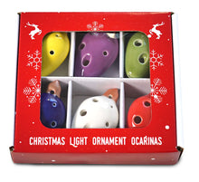 Load image into Gallery viewer, Light Bulb Ornaments Ocarina Set