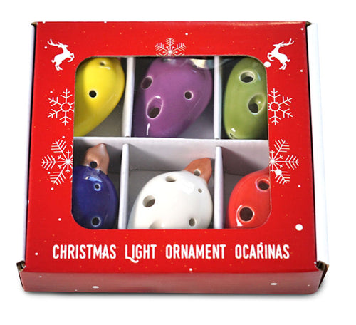 Light Bulb Ornaments Ocarina Set