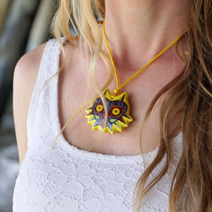 Majora's Mask Necklace Ocarina