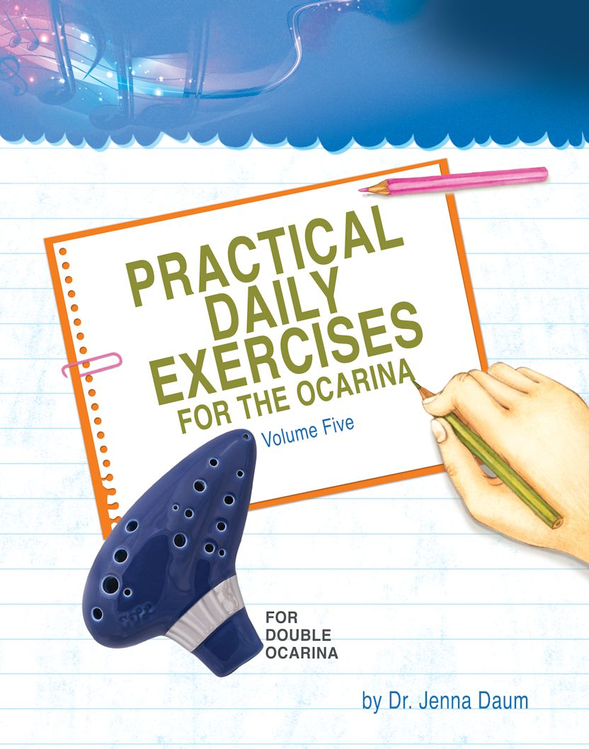 Practical Daily Exercises for the Ocarina Volume Five - For Double Ocarina