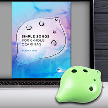 Load image into Gallery viewer, 6 Hole Plastic Ocarina for Beginners and Young Musicians