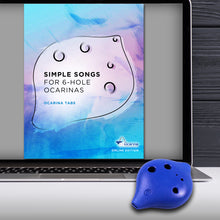 Load image into Gallery viewer, 6 Hole Plastic Soprano Ocarina