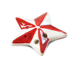 Star – Christmas Tree Ornament Ocarina
