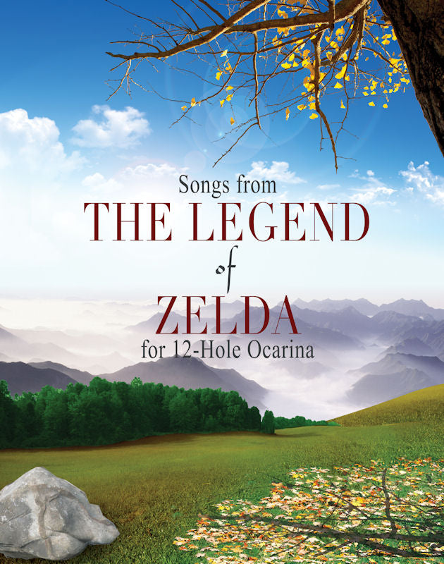 Zelda Songbook for 12 Hole Ocarinas