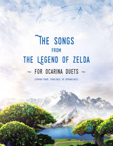 Zelda Songbook for Ocarina Duets