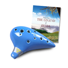 Load image into Gallery viewer, 12 Hole Tenor Ocarina with Zelda Songbook