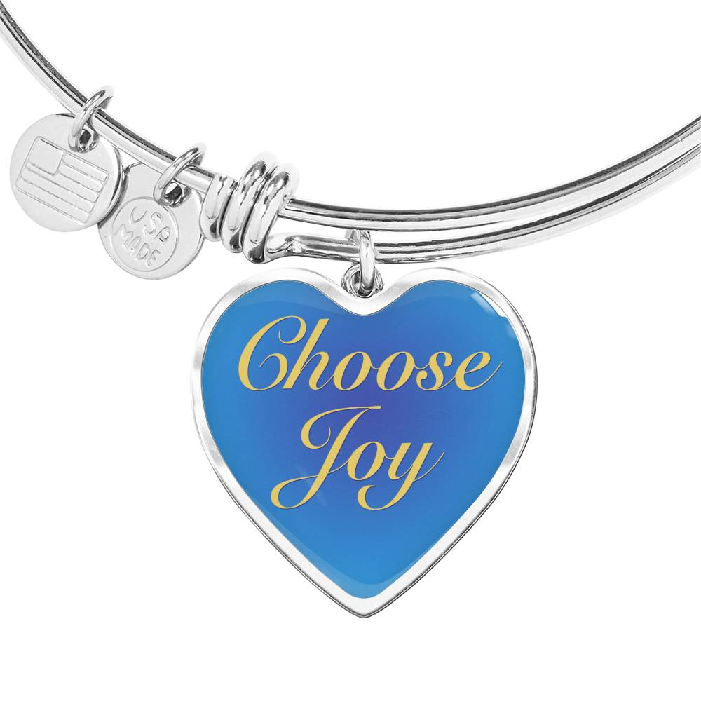 Choose Joy Charm Bracelet [CJ005]