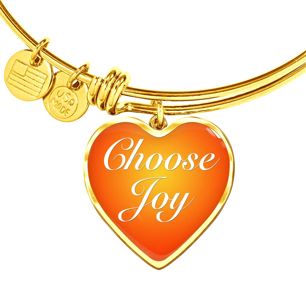 Choose Joy Charm Bracelet [CJ007]