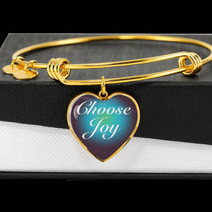 Choose Joy Charm Bracelet [CJ0010]