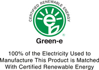 Green-e 100% Certified Renewable Energy