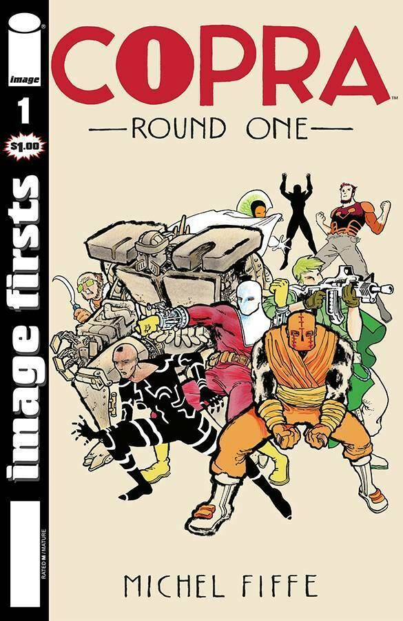 Image Firsts #1 | Copra, Spawn, Isola, Criminal, Gideon Falls NM 2019 Image