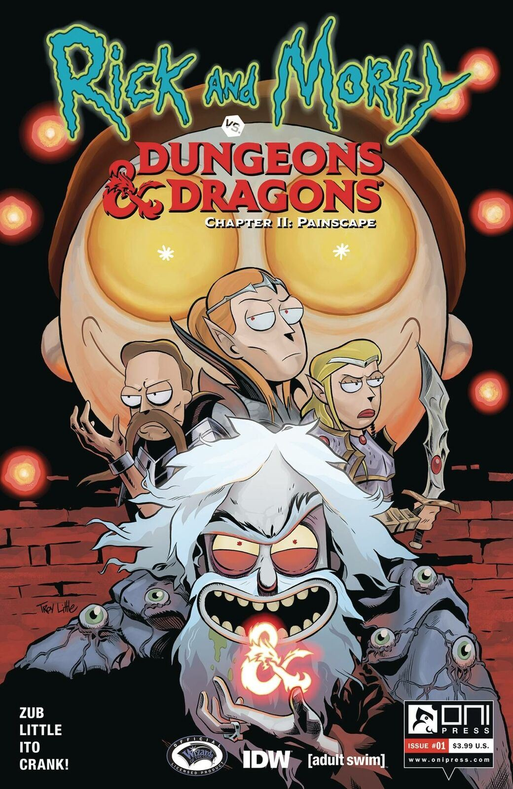 RICK & MORTY VS D&D II PAINSCAPE #1-4 | Select A B C D E Covers Oni Press 2020