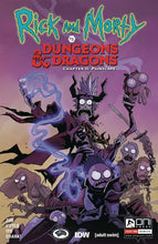 Load image into Gallery viewer, RICK & MORTY VS D&D II PAINSCAPE #1-4 | Select A B C D E Covers Oni Press 2020