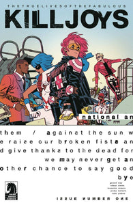 True Lives Fabulous Killjoys National Anthem #1 Select Covers Dark Horse Comics