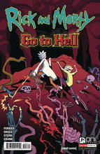 Load image into Gallery viewer, Rick and Morty Go To Hell #1-5 Select A & B Covers Oni Press Comics NM 2020
