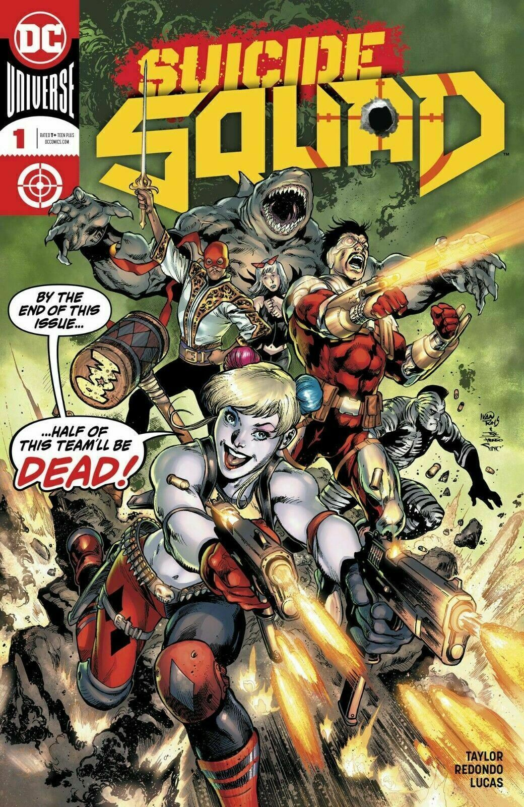 Suicide Squad #1-10 Select Main & Variants Covers DC Comics 2019-2020 NM