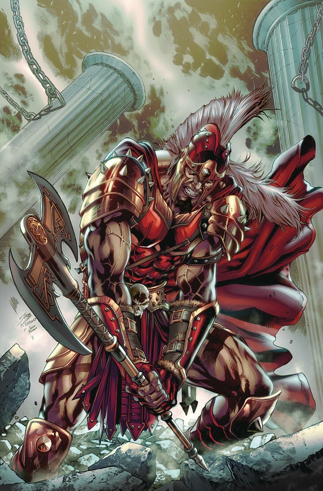 Myths & Legends Quarterly Ares #1 | A & B Zenescope Entertainment NM 2020