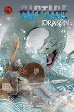 Load image into Gallery viewer, Riptide Draken #1-2 select Main cover Red 5 Comics NM 2020