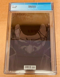Negan Lives #1 Bronze Foil Variant CGC 9.8 Near Mint Image Comics 2020