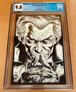 Batman Three Jokers #2 1:100 Variant Cover C 2020 DC Comics CGC 9.8