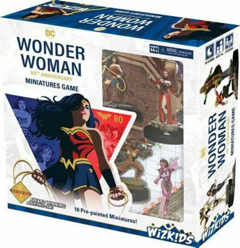 HeroClix: Wonder Woman 80th Anniversary Miniature Game (Updated 2021 Rules)