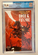 Load image into Gallery viewer, Once & Future #1 3rd Print Variant 2019 Boom! Studios CGC 9.4