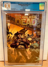 Load image into Gallery viewer, The Walking Dead Deluxe #1 Gold Foil Variant CGC 9.9 MINT Image Comics 2020
